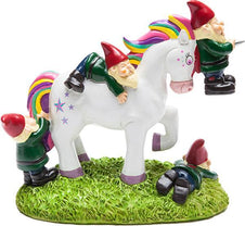 BigMouth Unicorn Gnome | MASSACRE GARDEN GNOME