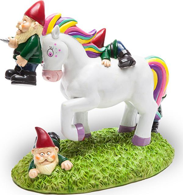 Unicorn Gnome Massacre | GARDEN GNOME