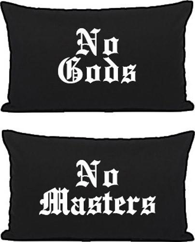 No Gods/No Masters Pillowcases