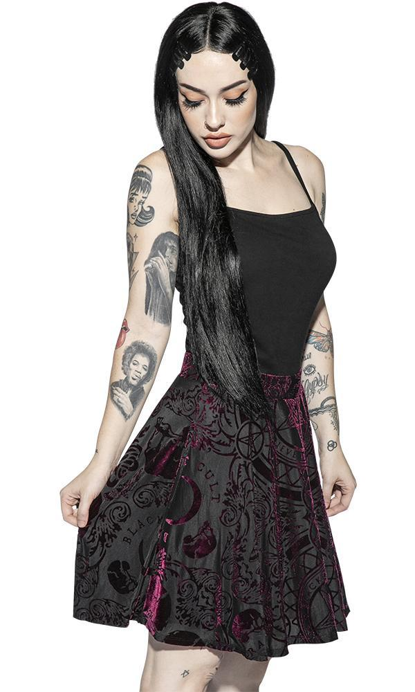 Baroque Velvet | SKIRT