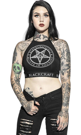 Believe In Yourself Pentagram | HALTER CROP