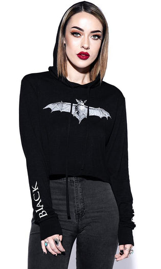 Batcraft Lightweight Cropped | HOODIE LADIES