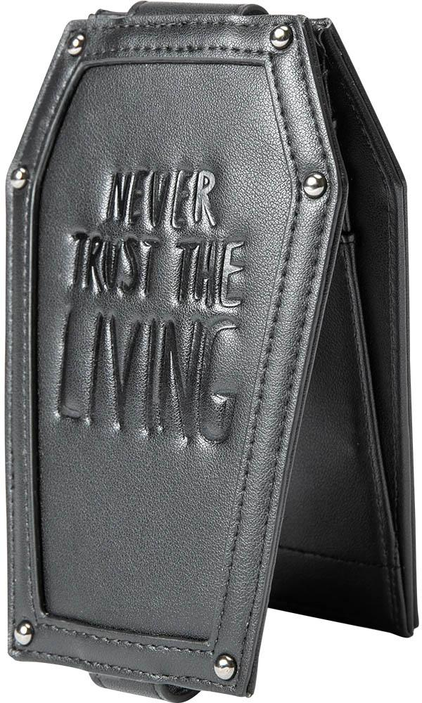 Never Trust the Living | COFFIN CARD HOLDER