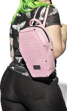 Never Trust [Pink] | Coffin BACKPACK