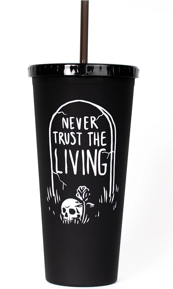 Never Trust The Living | TRAVEL CUP