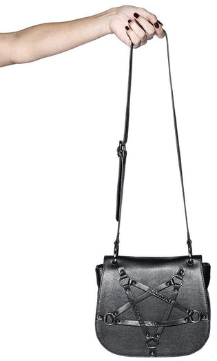 Pentagram Harness Saddle | CROSSBODY BAG