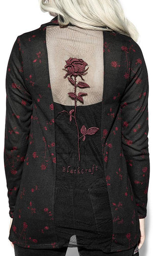 Pentagram Rose | CARDIGAN
