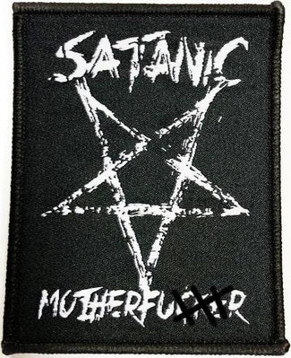 Satanic Motherfucker | WOVEN PATCH