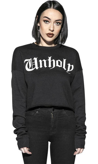 Unholy | CROPPED SWEATER