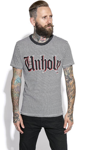 Unholy Striped | T-SHIRT MENS