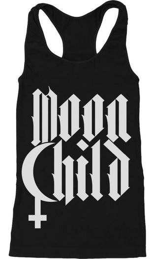 Moon Child | RACERBACK TANK LADIES