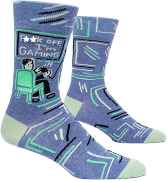 Fu** Off, I'm Gaming | CREW SOCKS