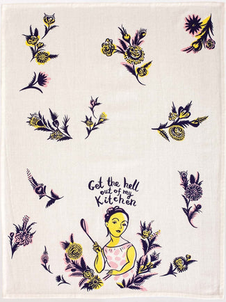 Get The Hell Out | DISH TOWEL