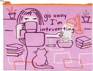 Go Away Introverting | ZIPPER POUCH