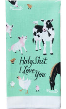 Holy Sh*t I Love You | DISH TOWEL