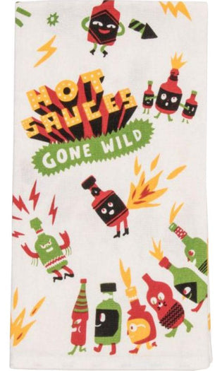 Hot Sauces Gone Wild | DISH TOWEL