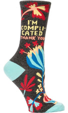 I'm Complicated | CREW SOCKS