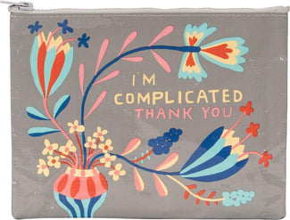 I'm Complicated Thank You | ZIP PURSE