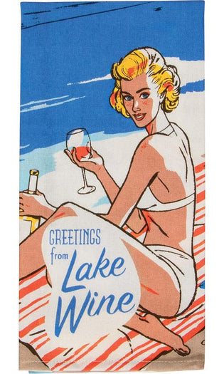 Lake Wine | DISH TOWEL
