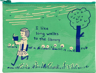Long Walks Library | ZIP POUCH
