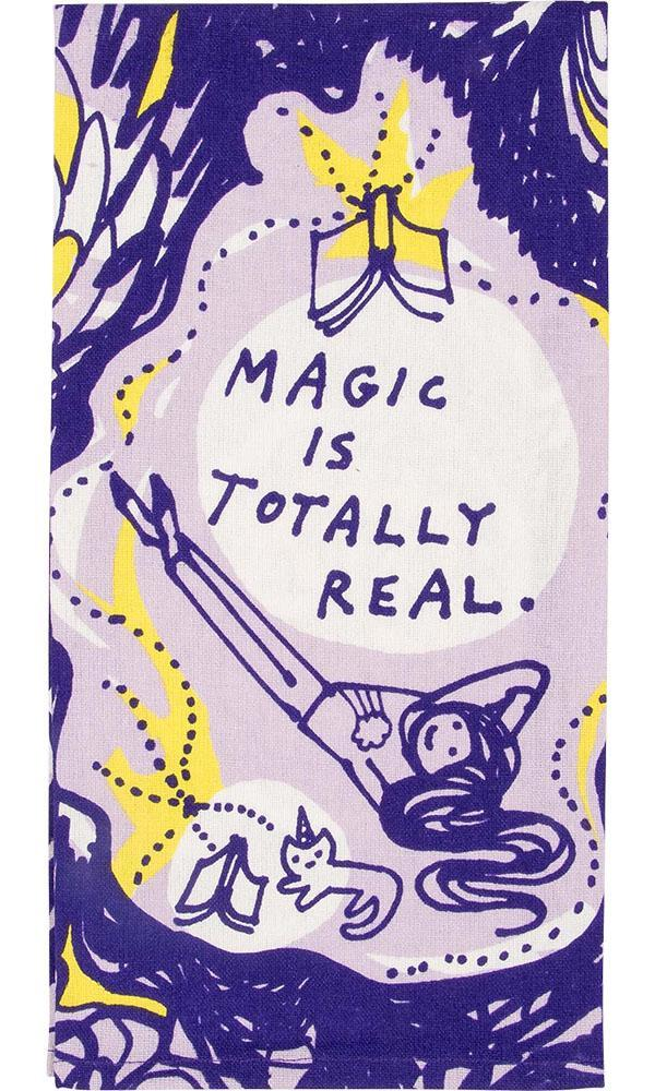 Magic Is Totally Real | DISH TOWEL*