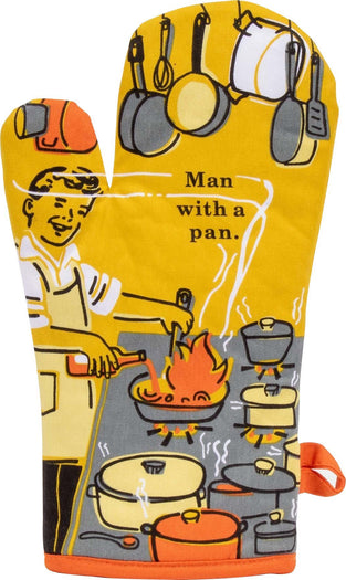 Man With A Pan | OVEN MITT