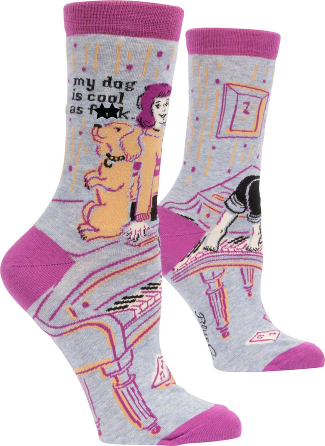 My Dog Is Cool As F*ck | CREW SOCKS