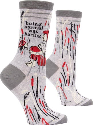 Normal Was Boring | CREW SOCKS