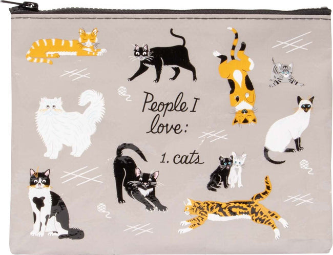 People I Love: Cats | ZIPPER POUCH
