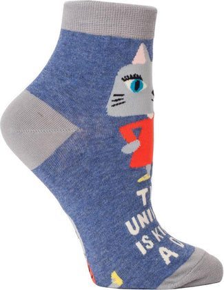 The Universe Is Kinda A Dick | ANKLE SOCKS