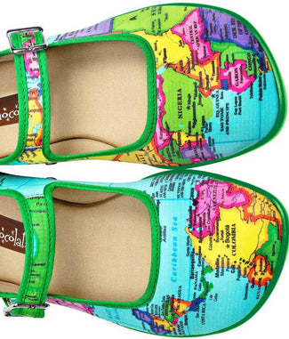 Bon Voyage - Made from fabric with rubber soles