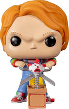 Child's Play 2 | Chucky With Buddy & Scissors POP! VINYL [RS]