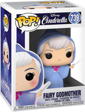 Cinderella | Fairy Godmother POP! VINYL