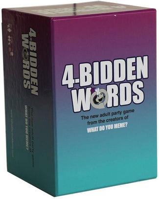 4-Bidden Words | GAMES