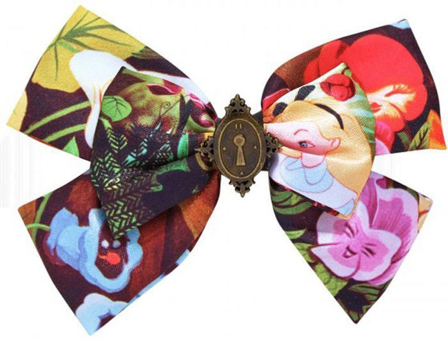Alice In Wonderland Enchanted Locket Bow