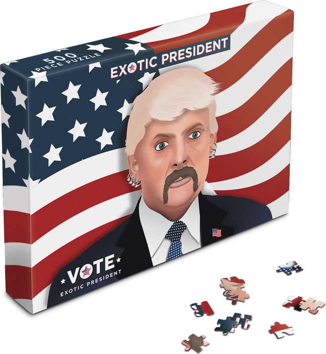 Tiger King | Vote Joe Exotic President [500 Pce] PUZZLE