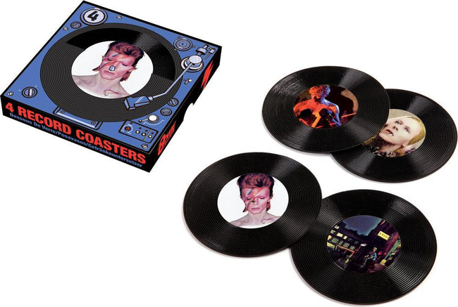 David Bowie | 4 RECORD COASTERS