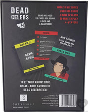 Dead Celeb | CARD GAME