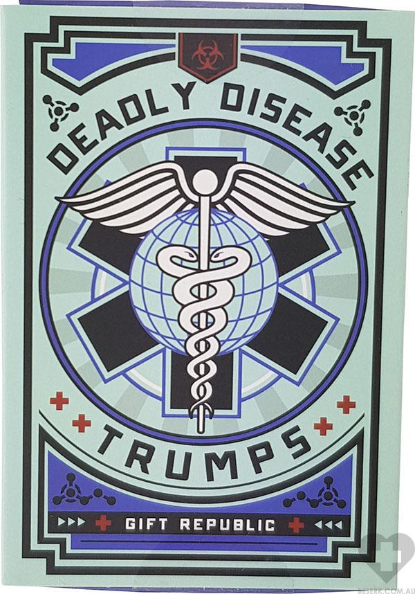 Deadly Disease | TOP TRUMPS GAME