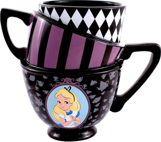 Alice in Wonderland | Stacked Teacups 3D MUG