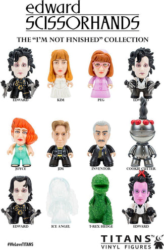 Edward Scissorhands | I'm Not Finished Collection TITANS BLIND BOX