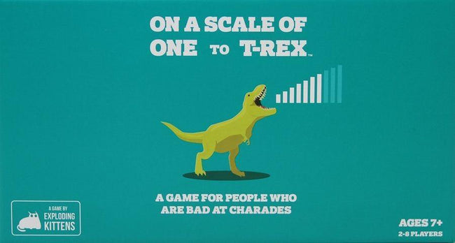 On A Scale of One to T-REX | GAME