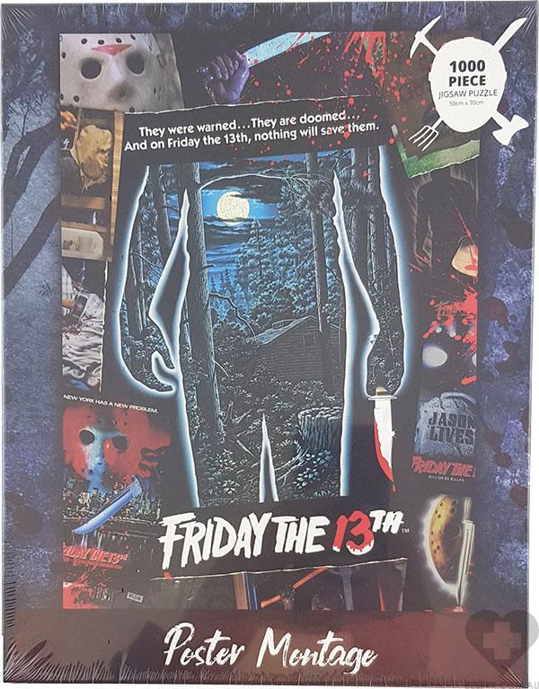 Friday The 13th | Poster Montage PUZZLE