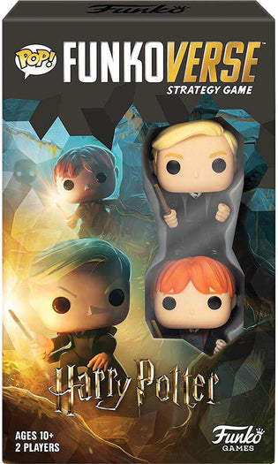 Funkoverse | Harry Potter 101 EXPANDALONE GAME [4 Pack]