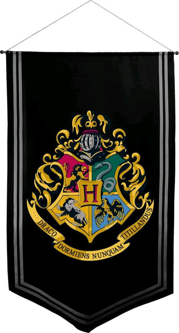 Harry Potter Hogwarts Satin Banner