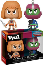Masters of the Universe - He-Man & Trapjaw Vinyl Figure