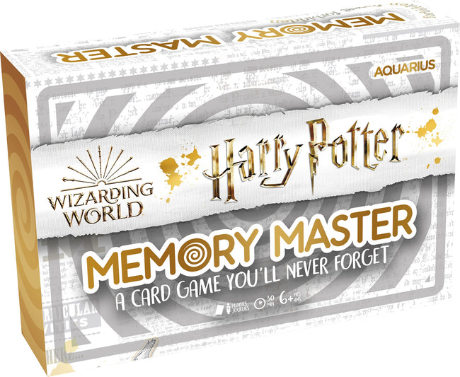 Memory Master | CARD GAME [Harry Potter Edition]