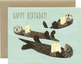 Otter Birthday | CARD