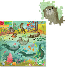 Otters [1000 Pc] | PUZZLE