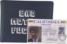 Pulp Fiction [Black] | Bad Mother F - WALLET*